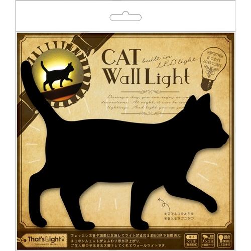 東洋ケース CAT WALL LIGHT�Aてくてく TL−CWL−02