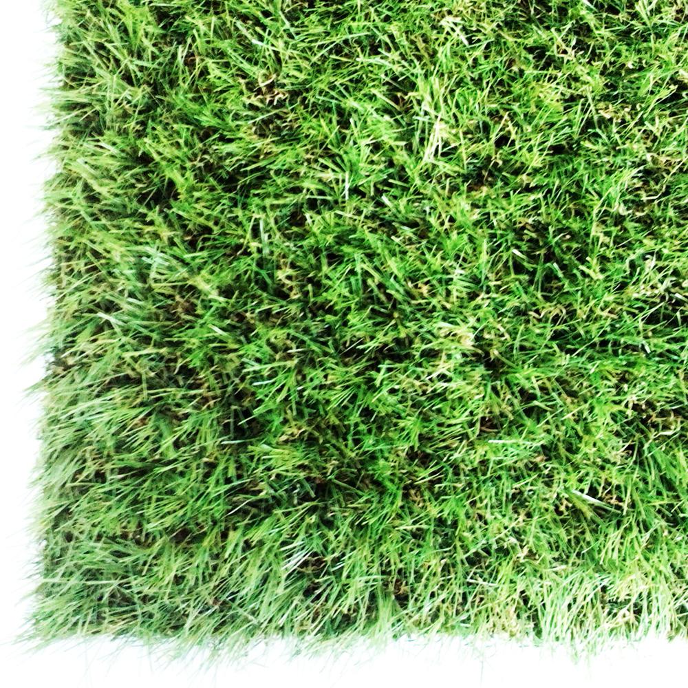 コーナンオリジナル ガーデンターフ 芝丈約:35mm 巾約:1mX10m巻き 透水穴付 (人工芝) (FIFA公認工場製造)