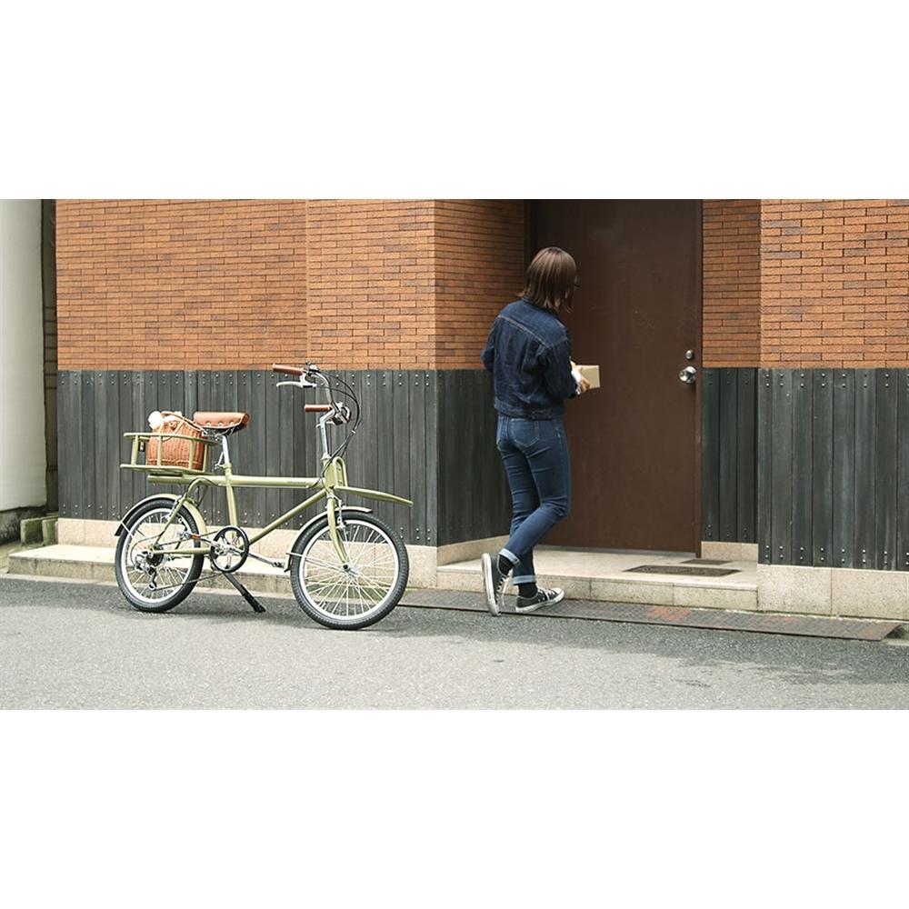 WACHSEN 20インチカーゴバイク 6段変速 colot WBG−2001 グリーン
