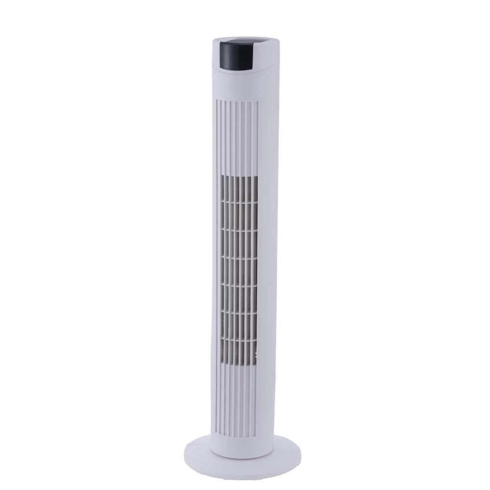 PortTech リモコン式スリムタワー扇 PKT−T800YFR(W)