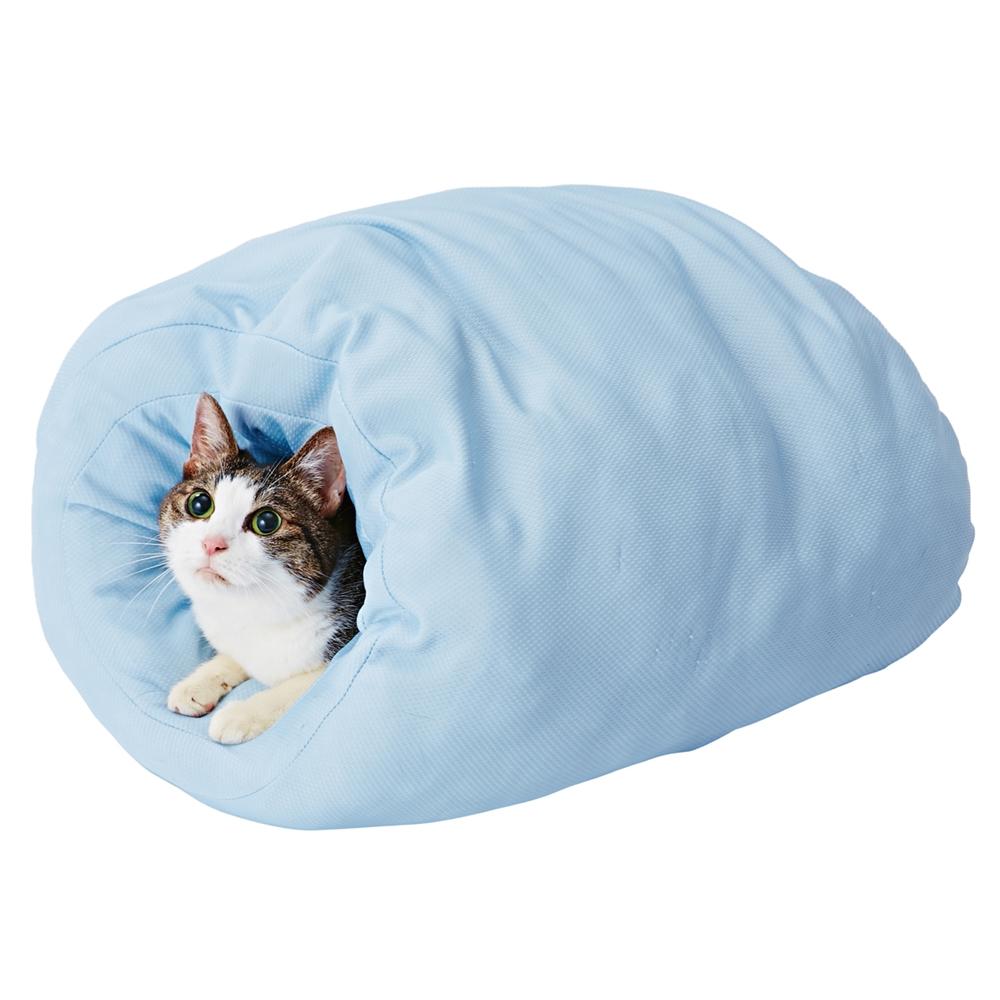 ひんやりロールベッド 猫用