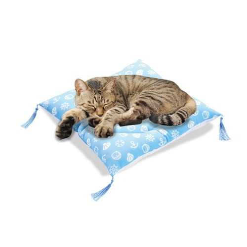 ひんやり涼座布団猫用