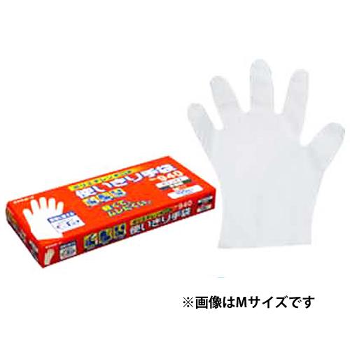 エステートレーディング ポリエチレン使いきり手袋・100枚入(箱) 940 S 半透明