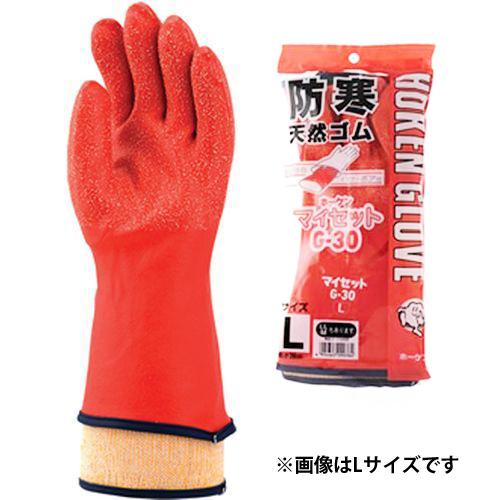 ホーケングローブ 防寒手袋 マイセット G-30 LL レッド