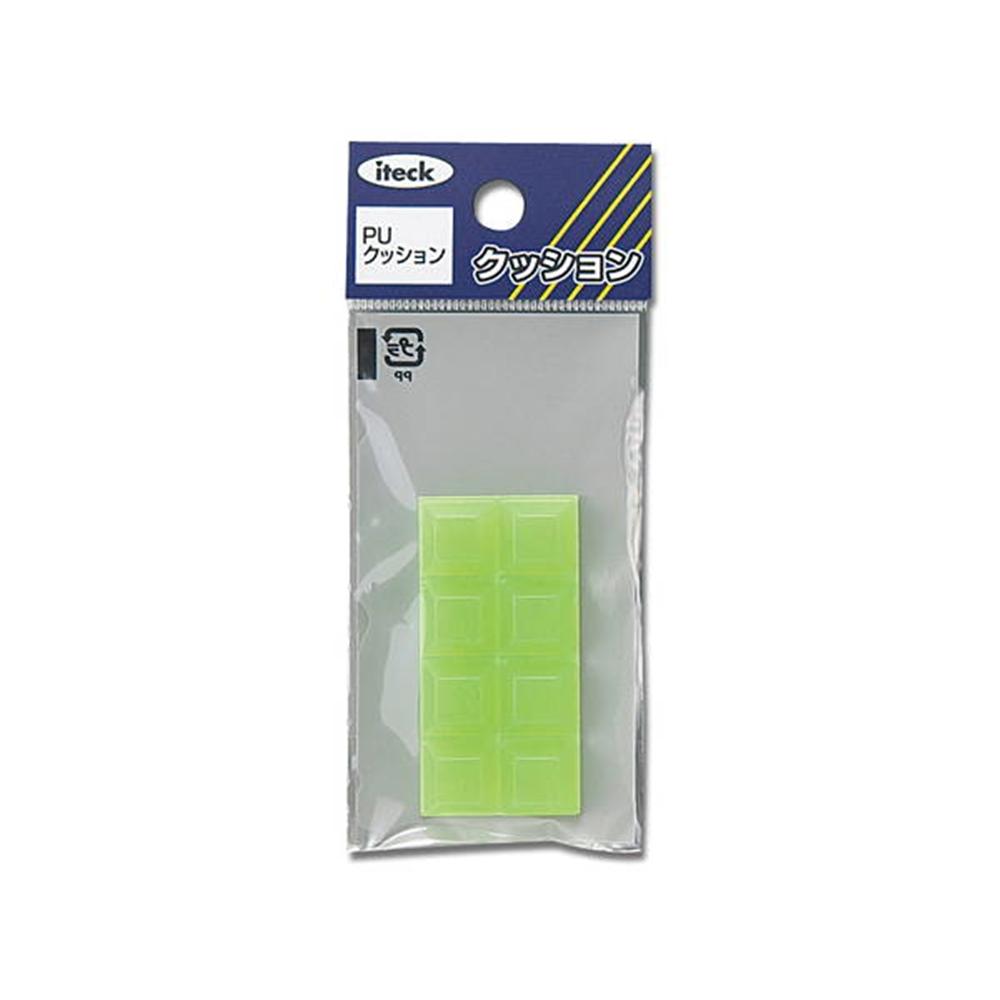 KKU−124 クッション緑 12mm
