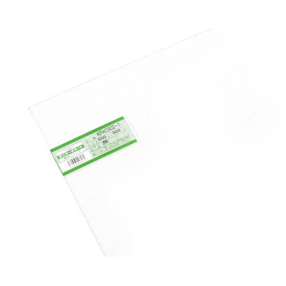 KPAC902−1 ポリカーボネート板 透明 600×900×2