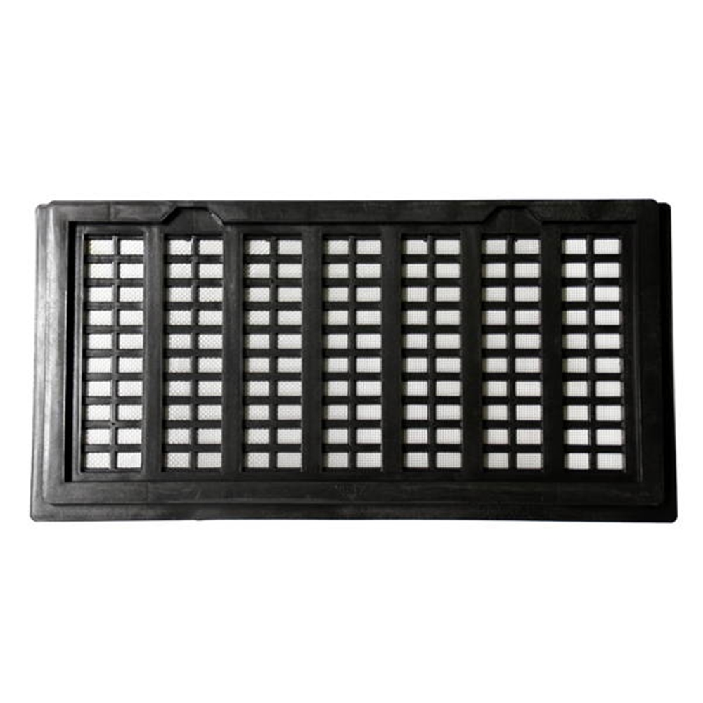 PC床下換気孔 200x400 アミ付