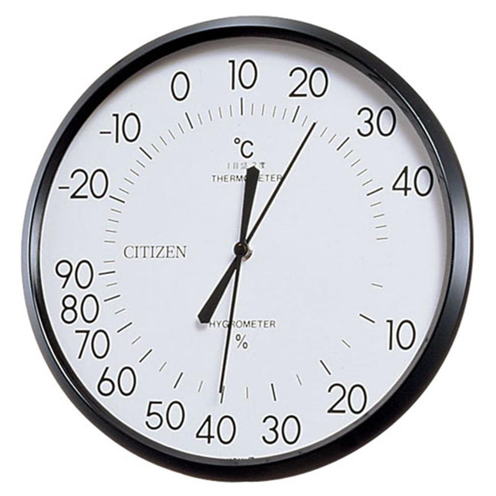 シチズン 温湿度計 TM−42 白