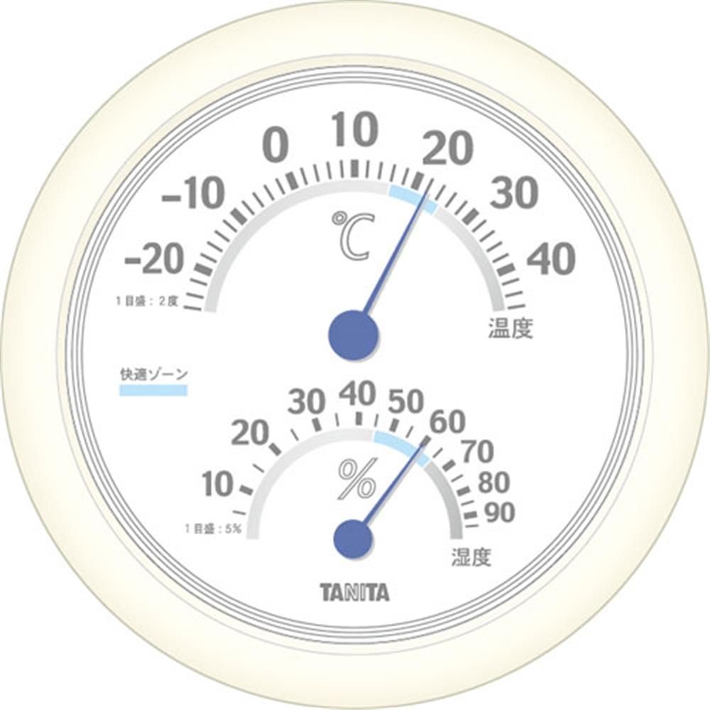 温湿度計 TT−513WH