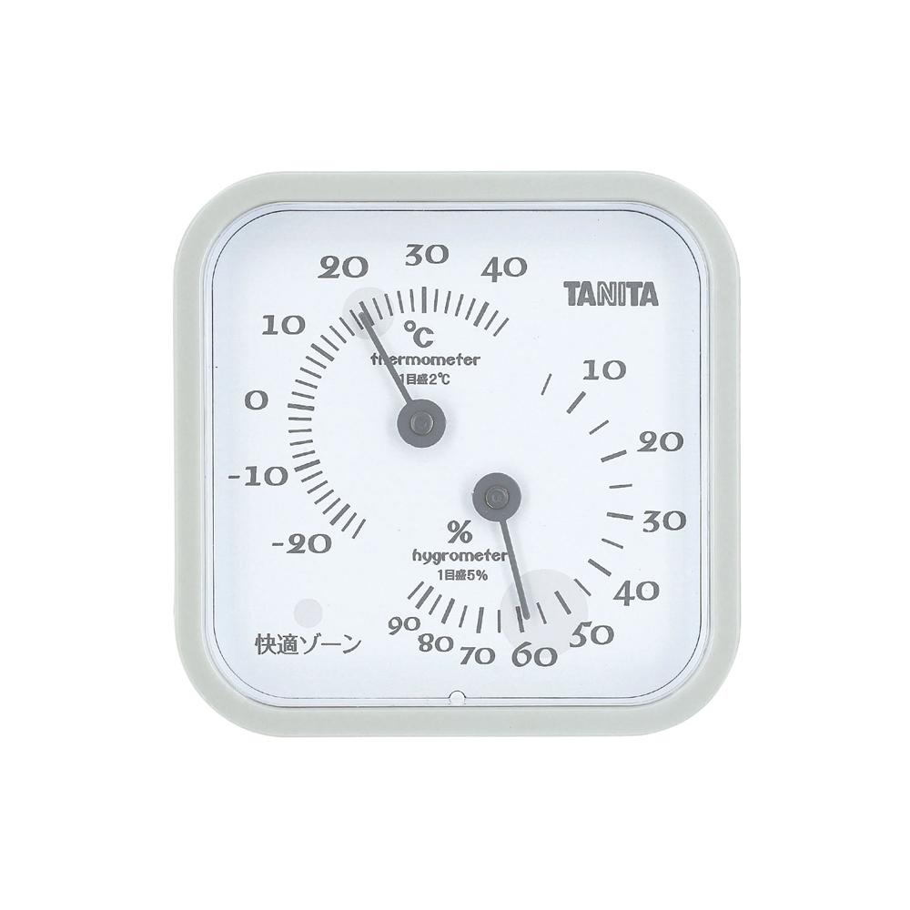 温湿度計 TT−557 グレー