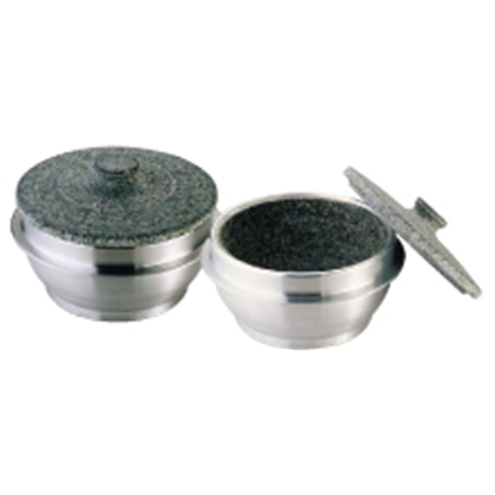 アルミ 枠付長水石焼釜(フタ付) WB−4023 4人用