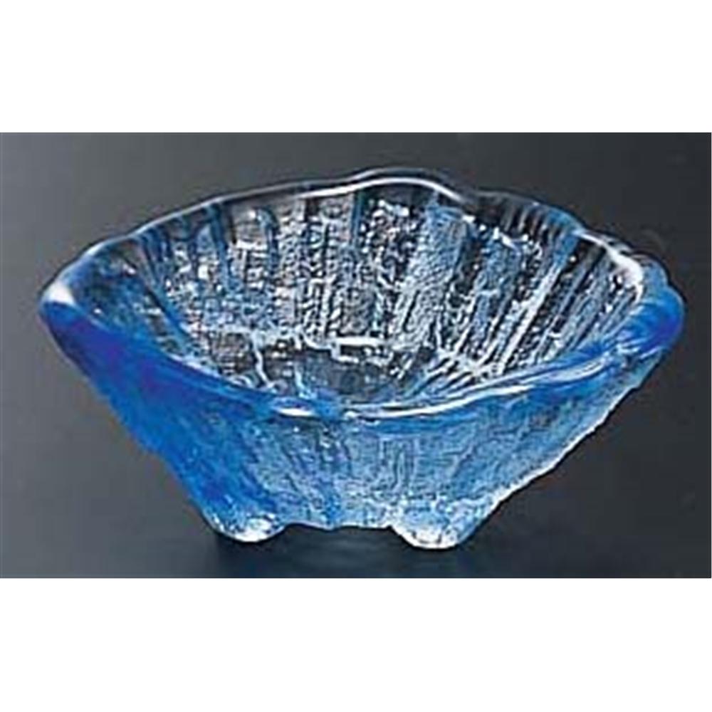 荒岩 三ツ足豆鉢 04−513CB コバルト