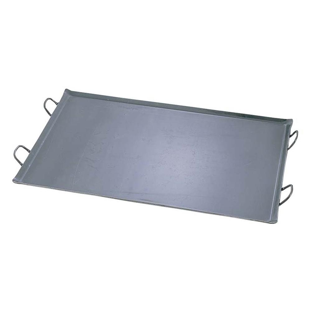 鉄 極厚プレス式 バーベキュー鉄板 特大