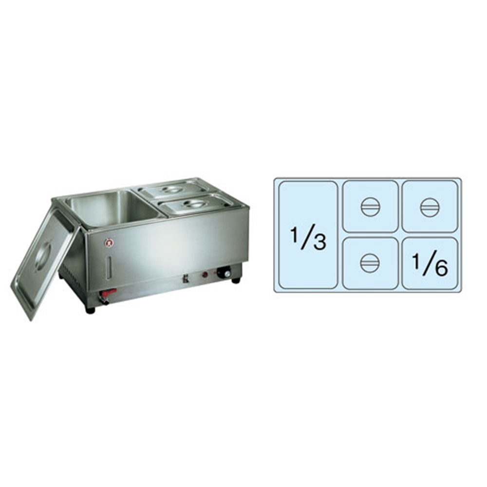 電気フードウォーマー1/1ヨコ型 KU−105Y