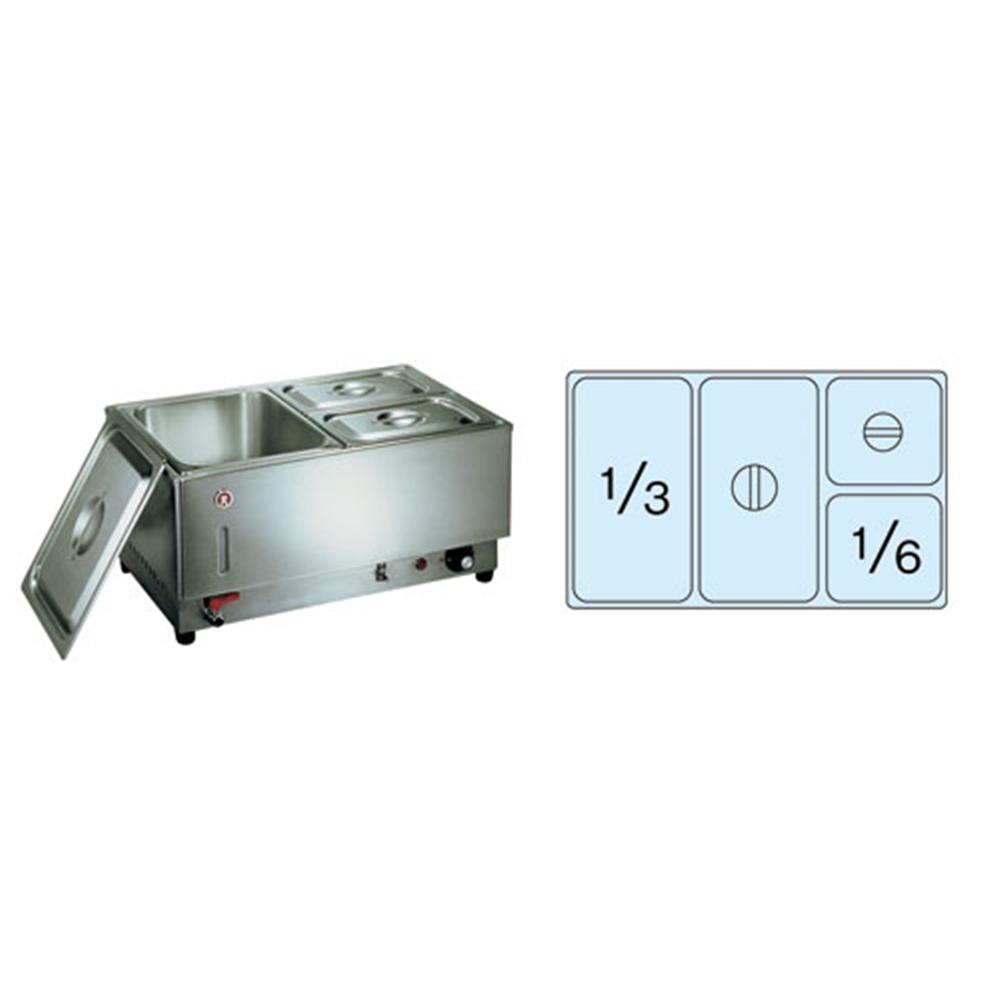電気フードウォーマー1/1ヨコ型 KU−110Y