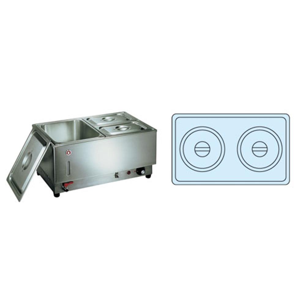 電気フードウォーマー1/1ヨコ型 KU−111Y