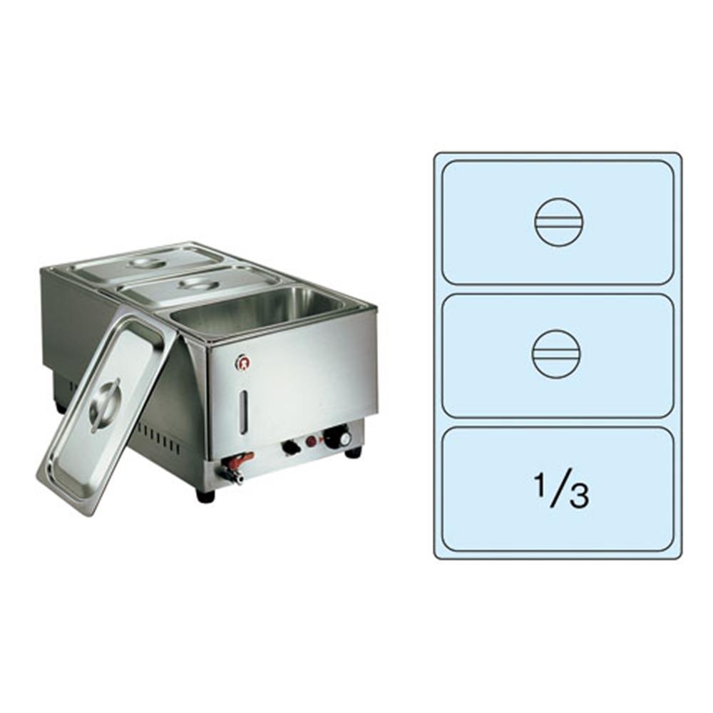 電気フードウォーマー1/1タテ型 KU−203T