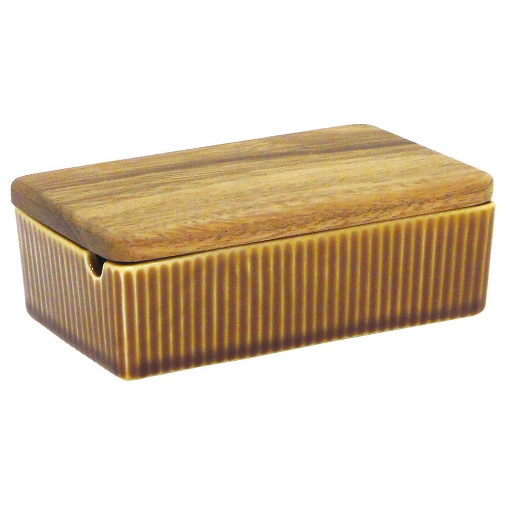 ViV(ヴィヴ)バターケース 26252 ブラウン