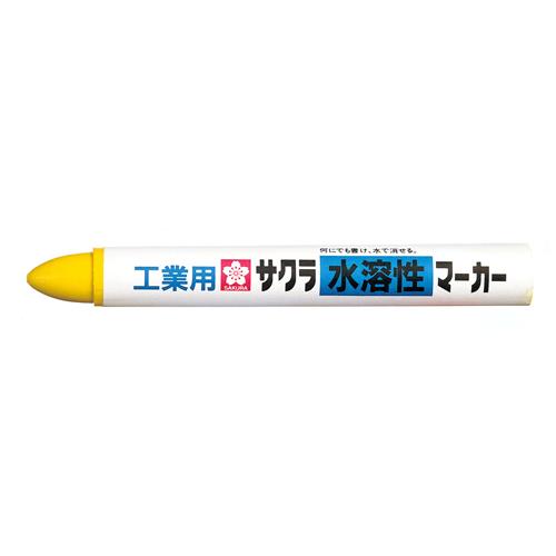 サクラ 工業用水溶性マーカー 黄 WSC#3