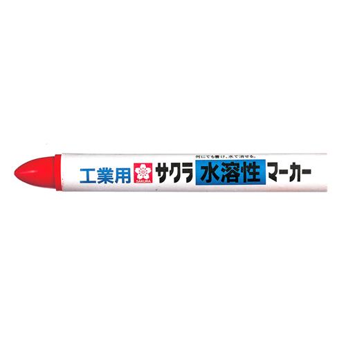 サクラ 工業用水溶性マーカー 赤 WSC#19