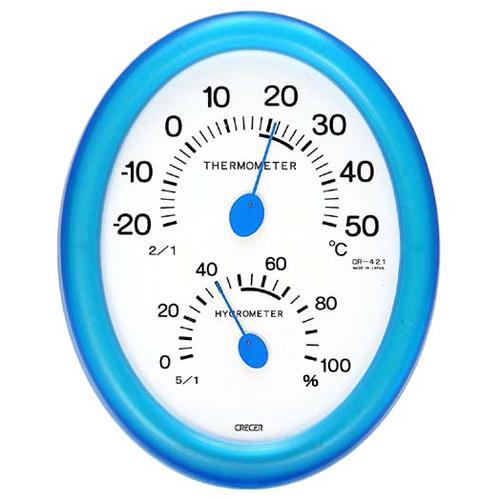 CRECER 温度計・湿度計 CR−421B