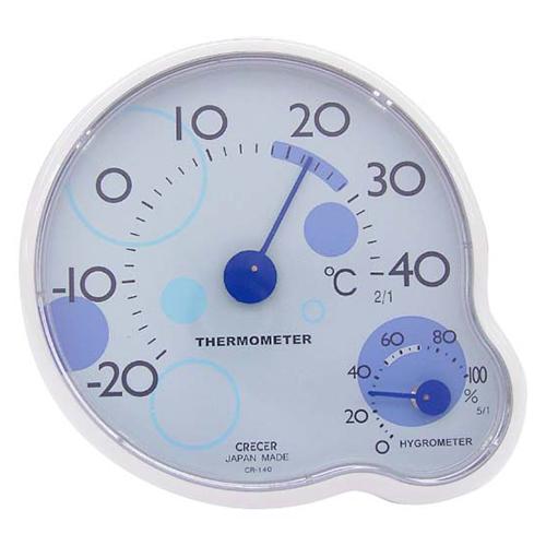 CRECER 温度計・湿度計 リップル CR−140B
