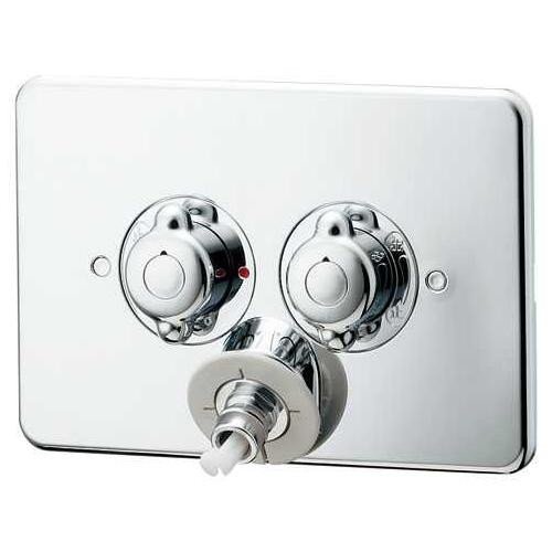 カクダイ 洗濯機用混合栓 天井配管用 127-103