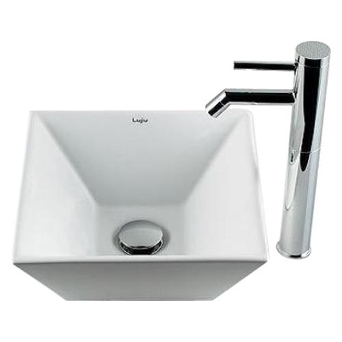 カクダイ 角型手洗器 493-082