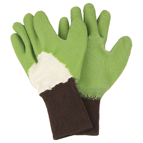 セフティー3 トゲがささりにくい手袋 グリーン S