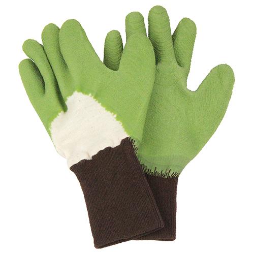 セフティー3 トゲがささりにくい手袋 グリーン M