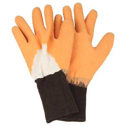 セフティー3 トゲがささりにくい手袋 オレンジ S
