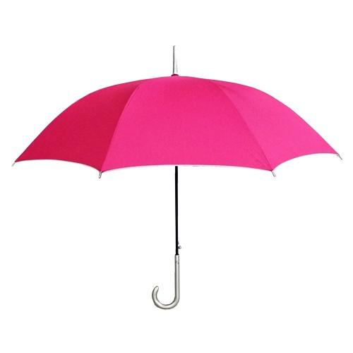 婦人カラ—日傘 赤