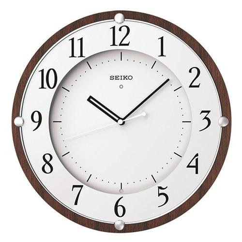 木枠電波掛時計KX373B