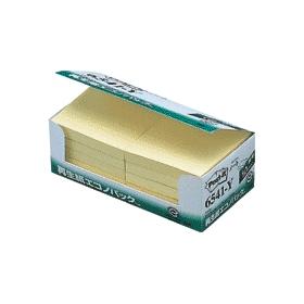 ポスト・イット再生紙エコノパック 6541−Y 10冊入