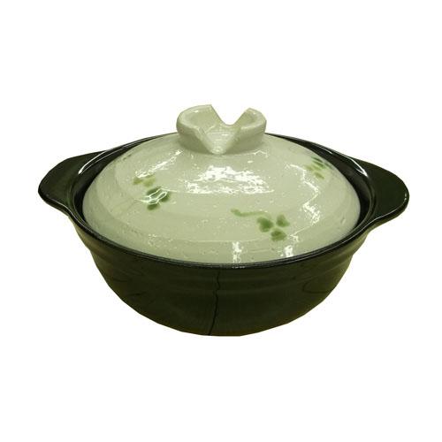軽量土鍋 三つ葉 6号 KFY05−0284