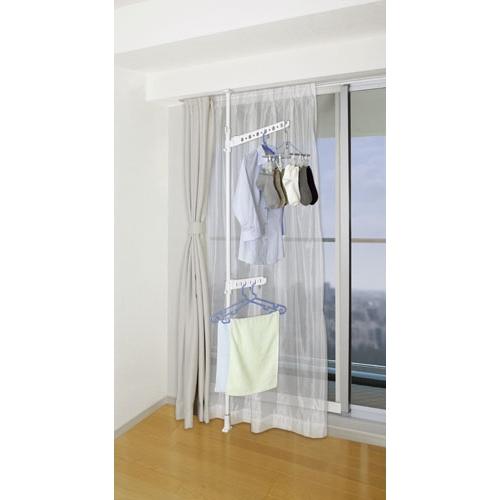室内用突っ張り窓枠物干しポール大 HON21−2809