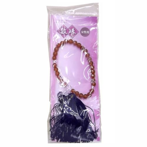 数珠 女性用 LOT−2021