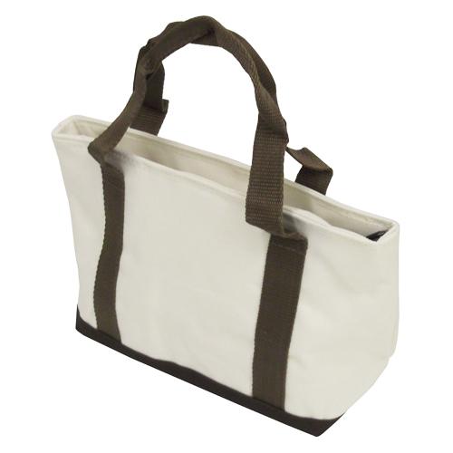 内ポケット付きランチバッグ オフホワイト KHM05−8835