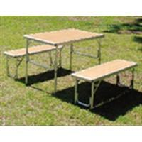アルミテーブルチェアセット KG23−2008