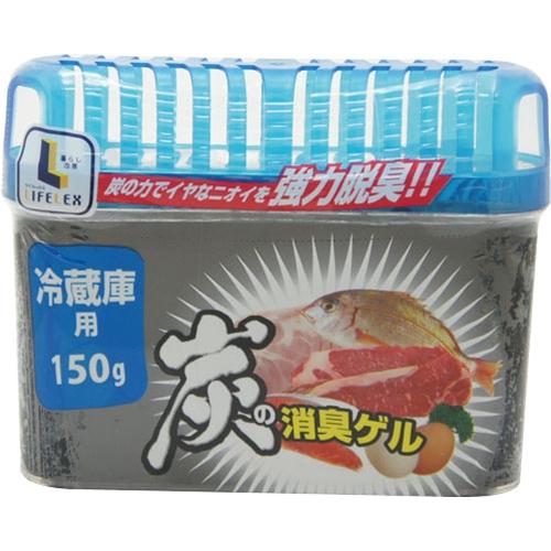 炭の消臭ゲル 冷蔵庫用 KG15−5783