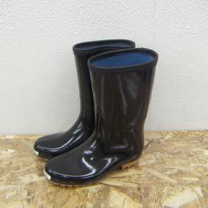 アメゴム底軽半長靴 25.0cm NJT04−6407