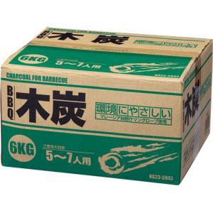 BBQ木炭 6kg KG23−6290