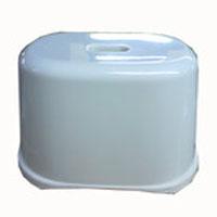※※※風呂いす 角型クリアホワイト KOK21−8423
