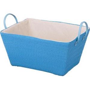 PPストローバスケット ブルー