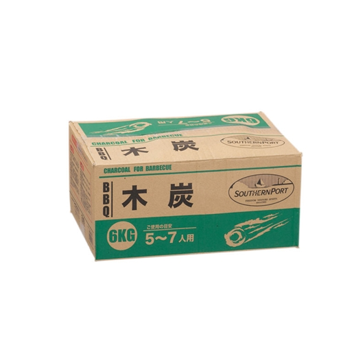 BBQ用木炭 6Kg KG23−9327