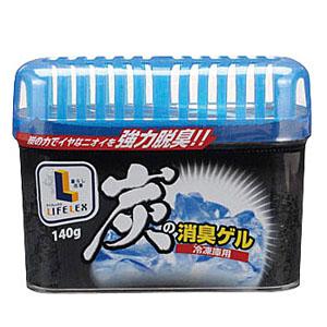 炭の消臭ゲル 冷凍庫用 140g