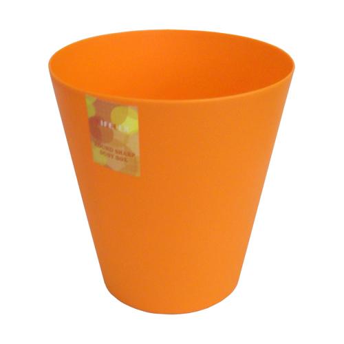 丸型くず入れ オレンジ SL110014−2