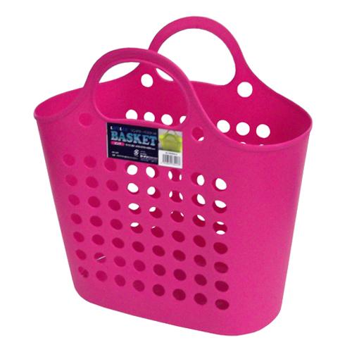 ランドリーバスケット ピンク SL100024−3