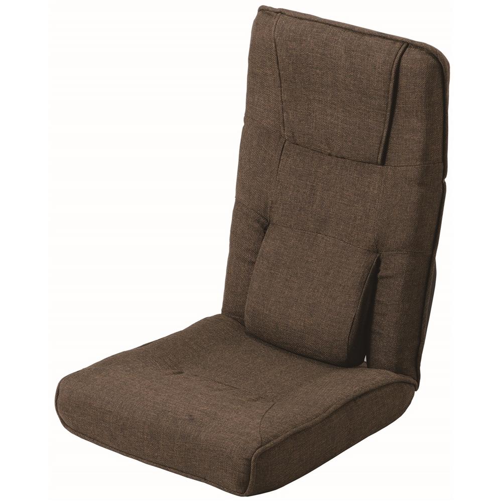ハイバック腰楽座椅子 ダークブラウン