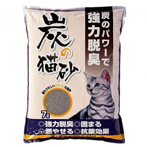 炭の猫砂 KJ12−7216 7L
